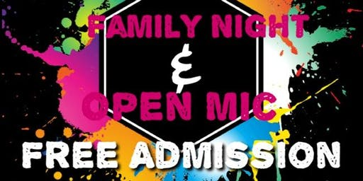 Family Night & Open Mic