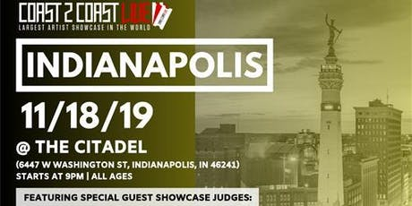 Coast 2 Coast LIVE Artist Showcase Indianapolis, IN  - $50K Grand Prize tickets