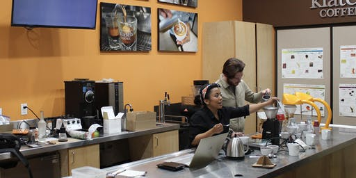 Friday Tasting! November 15th: Your favorite Klatch Coffee Baristas