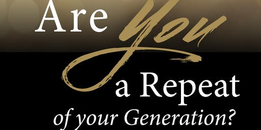 "MALESSIA J. POE ""ARE YOU A REPEAT OF YOUR GENERATION?"" AUTHOR BOOK SIGNING"