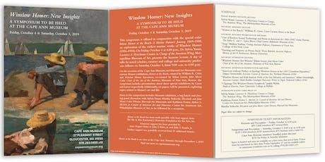 Winslow Homer: New Insights - Symposium tickets