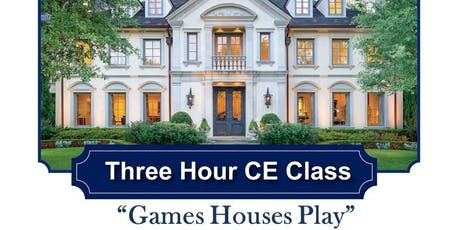 Free 3hr CE By ARROW Exterminators - Games Houses Play tickets