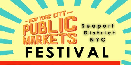 New York City Public Markets Festival tickets