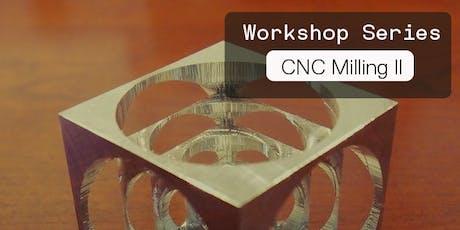 CNC Milling II: Conversational Programming tickets