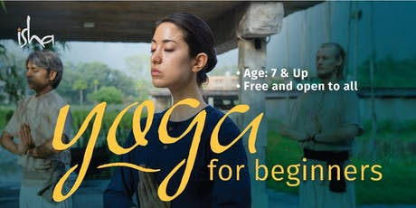 Yoga for Beginners (Free Session) tickets