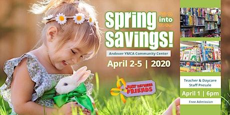 JBF Teacher Presale Ticket (Free)| Blaine/Andover Spring 2020 tickets