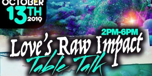 Love's Raw Impact Table Talk