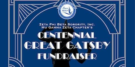 The Centennial Gatsby Fundraiser tickets