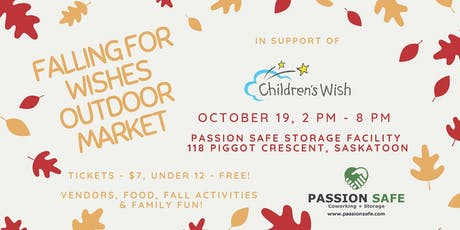 Falling for Wishes Outdoor Market in Support of Children's Wish 2019 tickets