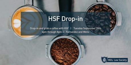 HSF Drop-In tickets