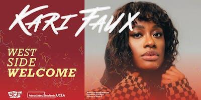 SCA Presents: Westside Welcome ft. Kari Faux