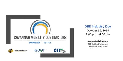 Savannah Mobility Contractors to host DBE Industry Day