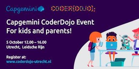 CoderDojo@CapGemini Utrecht 5 oktober 2019 tickets