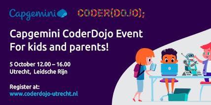 CoderDojo@CapGemini Utrecht 5 oktober 2019
