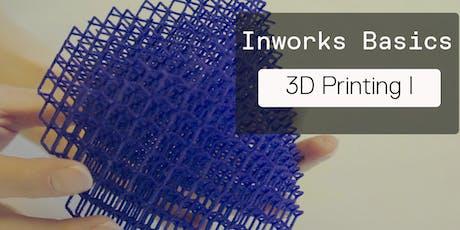 Basic 3D Printing 1 (FDM) tickets