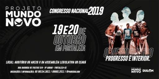 CONGRESSO NACIONAL 2019 PROJETO MUNDO NOVO SHALOM