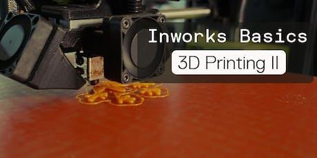 Basic 3D Printing 2 (FDM) tickets