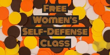 Free Women's Self-Defense Class tickets