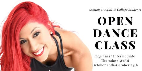 Dance Class Adults & College Students : Session 2 tickets