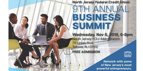9th Annual North Jersey FCU Business Summit tickets