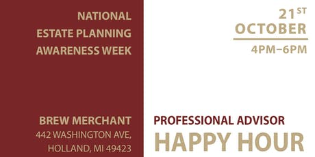 National Estate Planning Awareness Week Happy Hour tickets