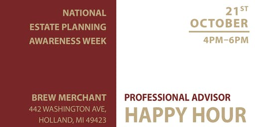 National Estate Planning Awareness Week Happy Hour