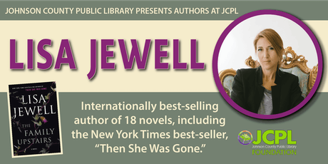 Authors at JCPL Presents: Lisa Jewell (plus book giveaway) tickets
