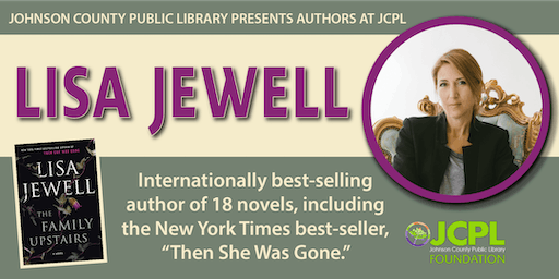 Authors at JCPL Presents: Lisa Jewell (plus book giveaway)