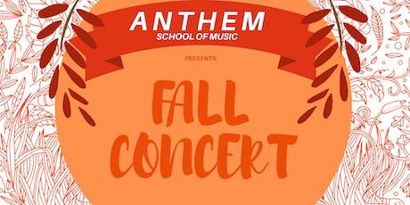 Fall Music Concert tickets
