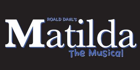 Matilda: the Musical tickets