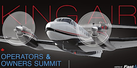 KING AIR SUMMIT CANADA - SPONSOR  SEPT.17TH  - 2020  tickets