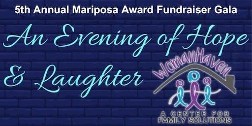 5th Annual Mariposa Award Fundraiser Gala