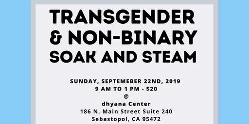Transgender and Non-Binary Soak and Steam