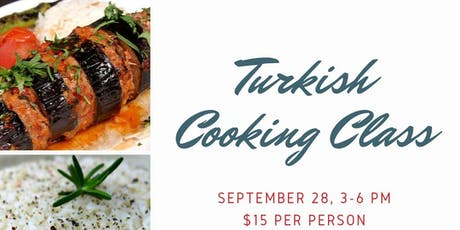 Turkish Cooking Class boletos