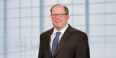 Monthly Membership Meeting with Florida Bar President John Stewart, Sponsored by Clark Partington tickets
