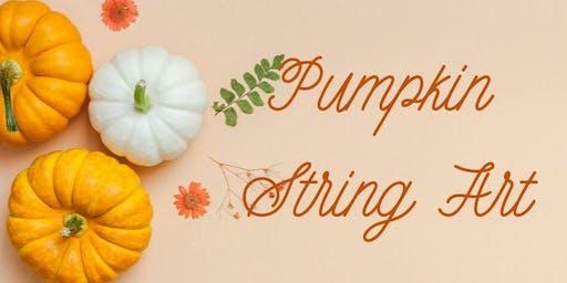 Pumpkin String Art (Adult)