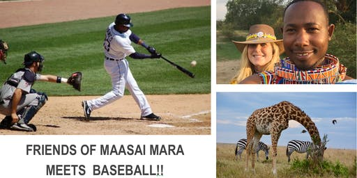 PLAY BALL!! and help build a wildlife conservation and cultural center in the Maasai Mara, Kenya!
