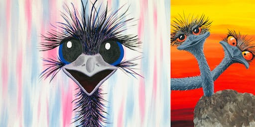 Aussie Emus - SOLD OUT