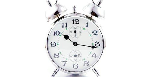 Time Management - Thursday 24 October