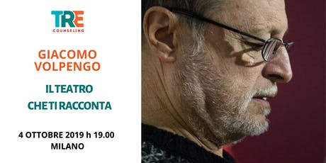 Il teatro che ti racconta  - conferenza di Giacomo Volpengo biglietti