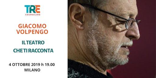 Il teatro che ti racconta  - conferenza di Giacomo Volpengo