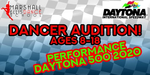 Dancer Audition - Daytona 500