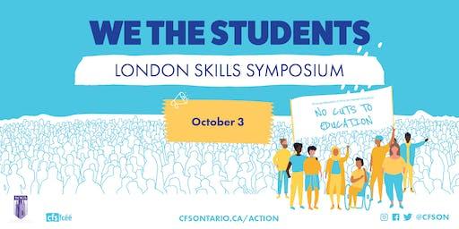 We The Students: London Skills Symposium