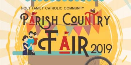 Holy Family Grade School Parish Country Fair 2019 tickets