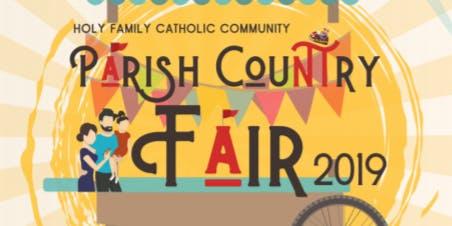 Holy Family Grade School Parish Country Fair 2019