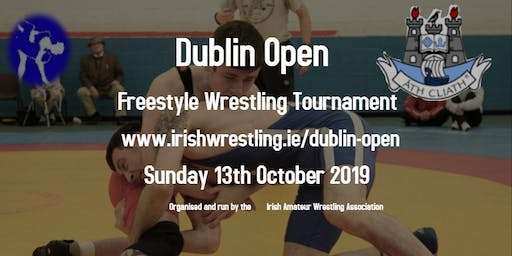 Dublin Open Freestyle Wrestling Tournament 2019
