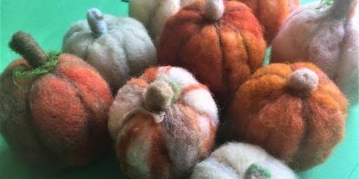 Needlefelting: Pumpkins