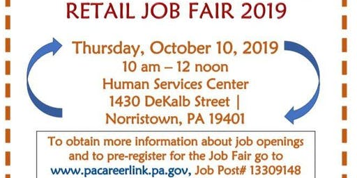 Retail Industry Job Fair