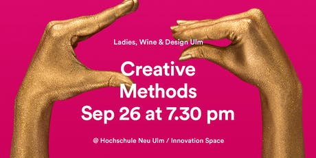 Ladies, Wine & Design Ulm – Creative Methods with Prof. Patricia Franzreb Tickets