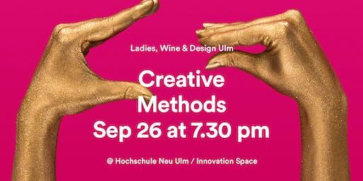 Ladies, Wine & Design Ulm – Creative Methods with Prof. Patricia Franzreb